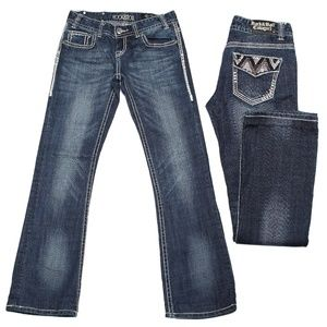 Rock and Roll Cowgirl Bling Jeans Size 27
